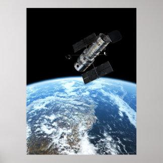 Hubble Space Telescope 18x24 (18x24) Poster