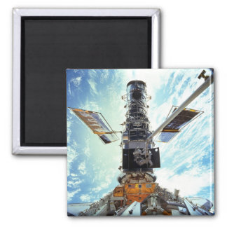 Hubble Space Telescope and astronauts Magnet