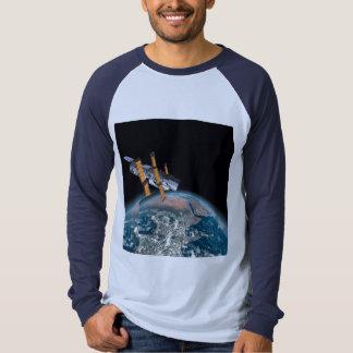 Hubble Space Telescope Astronomy Baseball Jersey T-shirts