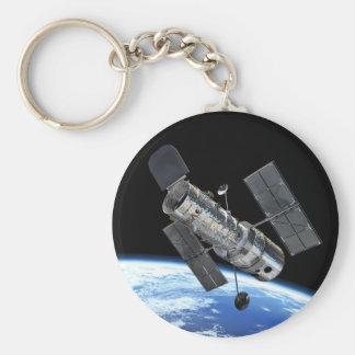 Hubble Space Telescope In Earth Orbit NASA Photo Key Ring