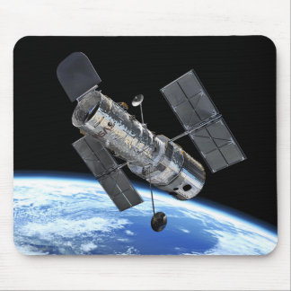 Hubble Space Telescope In Earth Orbit NASA Photo Mouse Pad