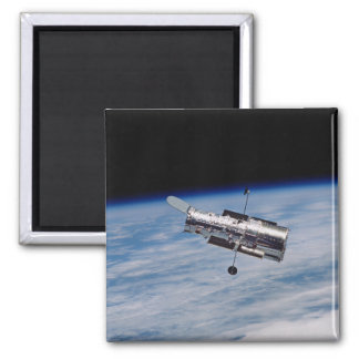 Hubble Space Telescope Square Magnet