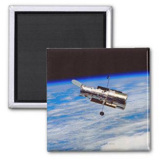 Hubble Space Telescope Square Magnet