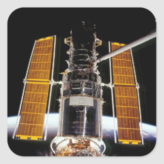Hubble Space Telescope Square Sticker
