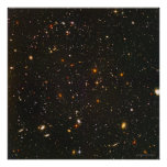 Hubble Ultra Deep Field 24x24  (22x22) Poster
