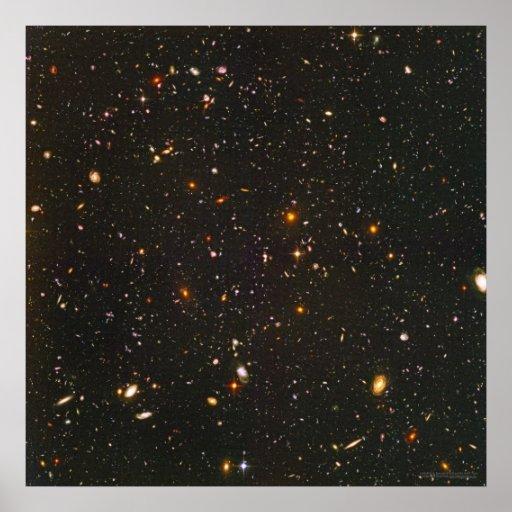 Hubble Ultra Deep Field 24x24  (22x22) Print