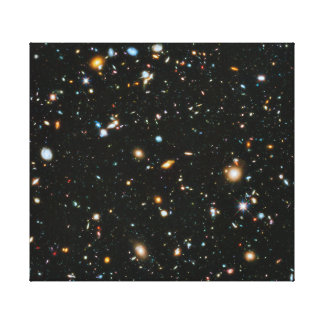 Hubble Ultra Deep Field Stretched Canvas Print