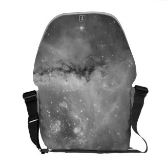 Hubble's Black and White View of the Universe Messenger Bags
