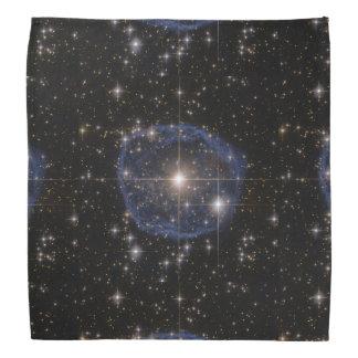 Hubble's Blue Bubble Bandana