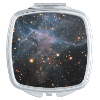 Hubble's 'Mystic Mountain' - Deep Space Makeup Mirror