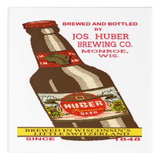 Huber Beer Acrylic Print