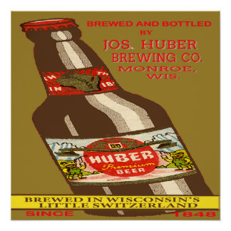 Huber Beer Poster