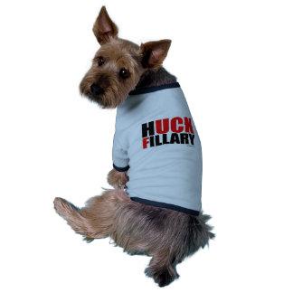 Huck Fillary Bold -- Anti Hillarypng.png Doggie Tshirt