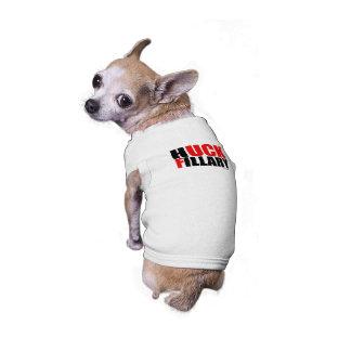 Huck Fillary Bold -- Anti Hillarypng.png Doggie Tee