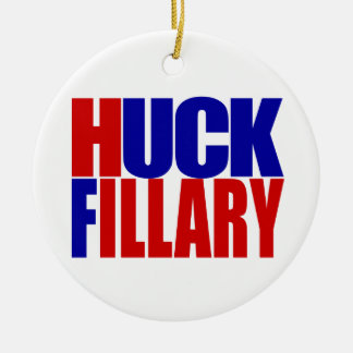 """HUCK FILLARY"" CERAMIC ORNAMENT"