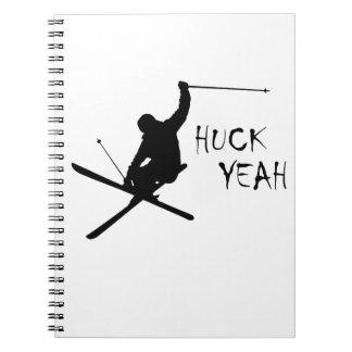 Huck Yeah (Skiing) Notebooks