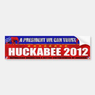 Huckabee 2012 Mike Huckabee Bumper Sticker