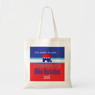 HUCKABEE 2016 BUDGET TOTE BAG