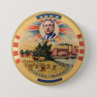 Huckabee and Prosperity 7.5 Cm Round Badge