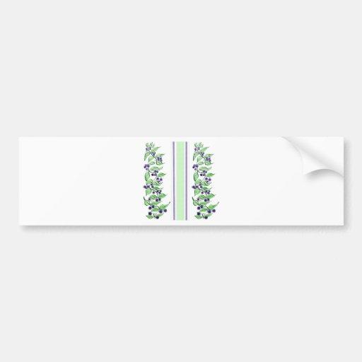 Huckelberry stripes bumper stickers