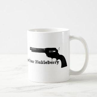 Huckleberry Basic White Mug