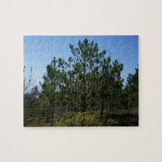Huckleberry Hill Pebble Beach Jigsaw Puzzle