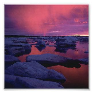 Hudson Bay Sunset Canada Photo Print