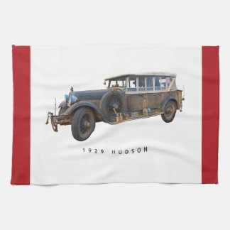 Hudson Car 1929 Tea Towel