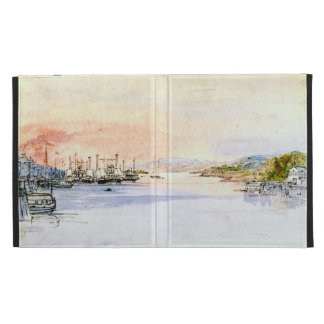 Hudson River Albany New York 1846 iPad Case