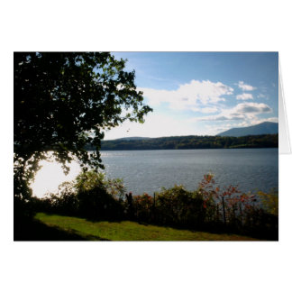 Hudson River - Clermont Manor Card