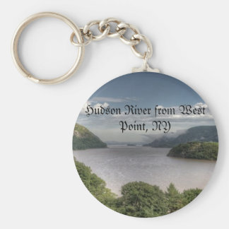 Hudson River from West Point, NY Key Ring