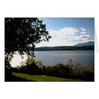 Hudson River View Greeting Card