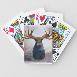 Hudson the Moose Bicycle Playing Cards