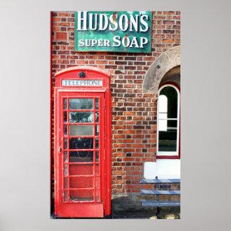 Hudson's Super Soap Sign