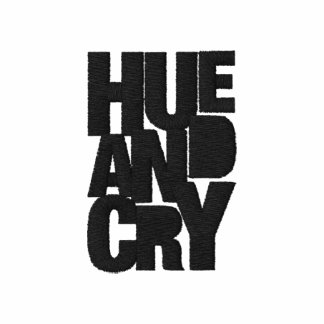 Hue And Cry - Embroidered - PoloShirt (Mens/White) Embroidered Shirts
