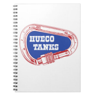 Hueco Tanks Carabiner Spiral Notebook