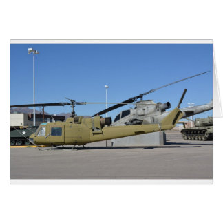 Huey & Cobra helicopters Aircraft Destiny Greeting Card