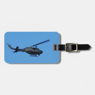 Huey over Malta Luggage Tag
