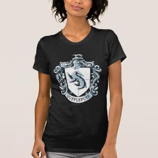 Hufflepuff Crest Blue Shirt