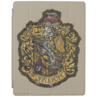 Hufflepuff Crest - Destroyed iPad Cover