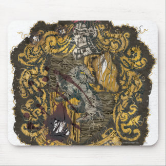 Hufflepuff Crest - Destroyed Mousepads