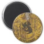 Hufflepuff Crest HPE6 6 Cm Round Magnet