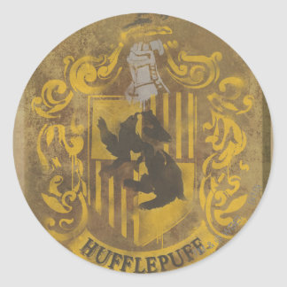Hufflepuff Crest HPE6 Stickers