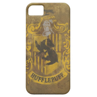 Hufflepuff Crest Painted Case For The iPhone 5