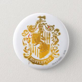 Hufflepuff Crest - Splattered 6 Cm Round Badge