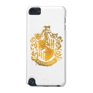 Hufflepuff Crest - Splattered iPod Touch (5th Generation) Cover