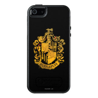 Hufflepuff Crest - Splattered OtterBox iPhone 5/5s/SE Case
