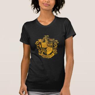 Hufflepuff Crest - Splattered T-Shirt