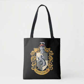 Hufflepuff Crest Tote Bag