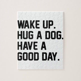 Hug a Dog Jigsaw Puzzle